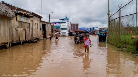 Yurimaguas: desborde del río Huallaga afectó viviendas y negocios