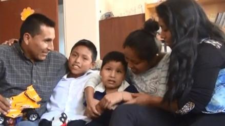 Niño de 5 años con quiste en la columna pide ayuda para ser operado