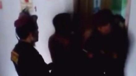 Juliaca: sujetos que conducían ebrios agreden a policías durante intervención