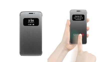 El nuevo LG G5 tendrá una funda que permitirá atender llamadas sin abrirla