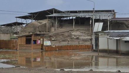 Evacuan aguas estancadas de lluvias en alrededores de centros arqueológicos