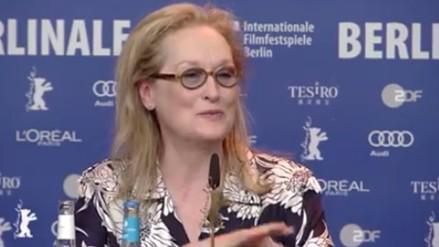 Berlinale: Meryl Streep comenzó actividades como jurado