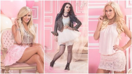 WWE: Paige, Lana y Summer Rae deslumbran con atuendos para San Valentín (FOTOS)
