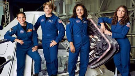 NASA: nueva generación de astronautas mujeres aspiran a llegar a Marte