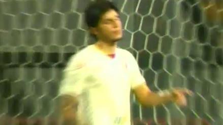 Universitario de Deportes vs. Juan Aurich: Horacio Benincasa falló un gol cantado