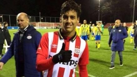 Selección Peruana: Luiz Da Silva generó un penal en el Jong PSV 2-2 Volendam