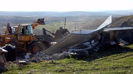 Israel destruye unas 40 casas palestinas en el norte de Cisjordania