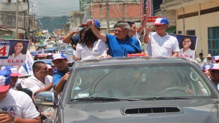 Tarapoto: César Acuña seguro de pasar a la segunda vuelta
