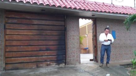 Iquitos: lanzan bomba molotov a casa de periodista