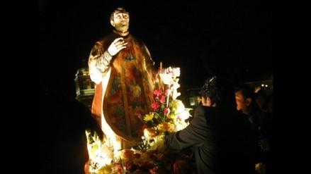 Trujillo celebra 395 años de santo patrón y protector San Valentín