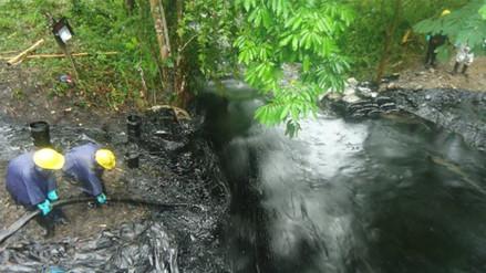 Amazonas: alarma por derrame de petróleo que contamina al río Marañón