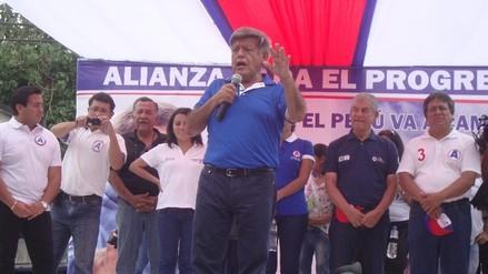 Moyobamba: César Acuña promete creación del Ministerio de la Juventud