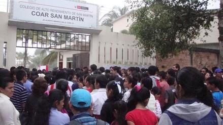Más de 500 postulantes rinden evaluación para ingresar al COAR San Martín