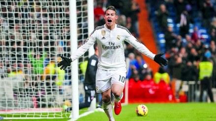 Real Madrid vs. Athletic Bilbao: James Rodríguez se cobró revancha con golazo