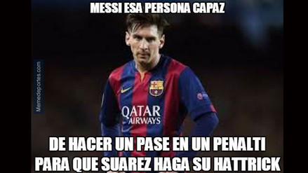 Barcelona goleó al Celta y Lionel Messi es protagonista de los más hilarantes memes