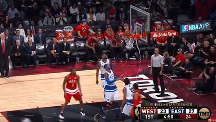YouTube  Kobe Bryant regaló brillante canasta en el Juego de Estrellas de  la NBA a35236d2284