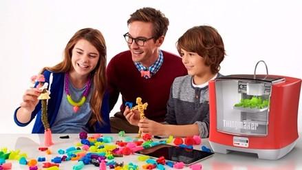 Mattel revela una impresora 3D que permitirá a los niños crear sus juguetes