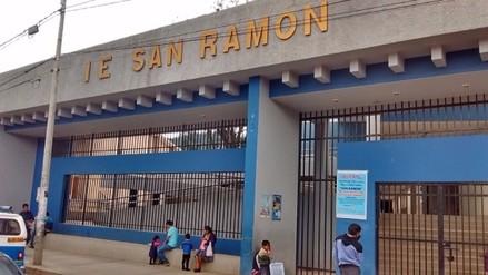 Obras en colegio emblemático San Ramón aún se encuentran sin terminar