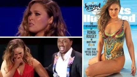 YouTube: Ronda Rousey y su graciosa reacción al ver su portada en Sports Illustrated