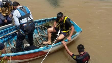 Continúa búsqueda de niño que cayó al río Coata
