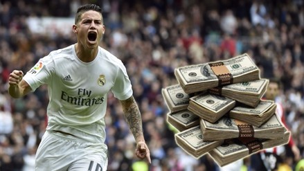 Real Madrid: Football Leaks reveló millonario contrato de James Rodríguez