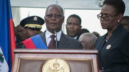 Haití: presidente interino llama al diálogo para superar severa crisis