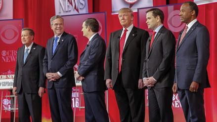 Trump atacó al hermano de Bush en virulento debate republicano