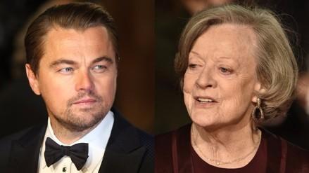 Leonardo DiCaprio besó a la profesora de Harry Potter