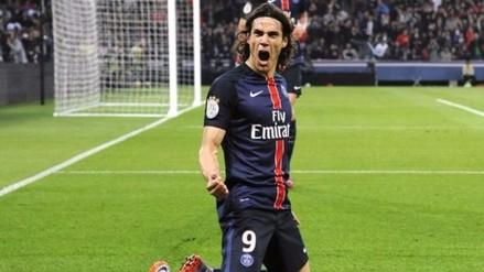 PSG, con gol de Edison Cavani, venció 2-1 a Chelsea en los octavos de la Champions League