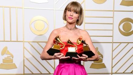 Premios Grammy: Taylor Swift y su contundente respuesta a Kanye West