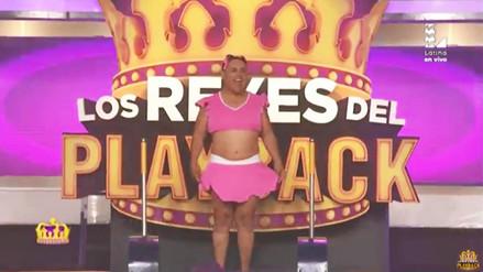 """Los Reyes del Playback: Yahaira y """"Chibolín"""" se robaron el show"""