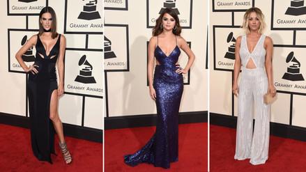 Premios Grammy: los escotes que impactaron en la gala