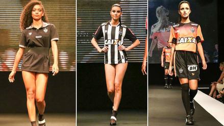 Facebook: Atlético Mineiro presentó su nueva camiseta con infartantes modelos
