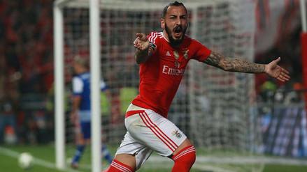 Benfica logró agónico triunfo 1-0 sobre Zenit en Champions League