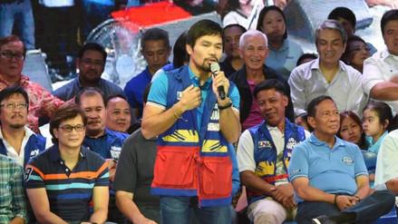 Facebook: Manny Pacquiao afirmó que los gays son