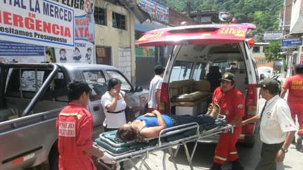 Chachamayo: menor de 3 años fallece tras choque vehicular