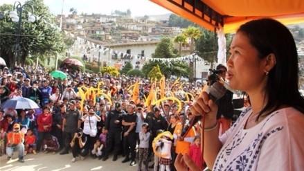 Keiko Fujimori visita esta tarde la ciudad de Trujillo