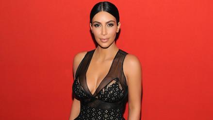 Kim Kardashian revela secreto para lucir un escote de infarto