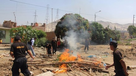 Trujillo: desalojan a 70 invasores en distrito La Esperanza