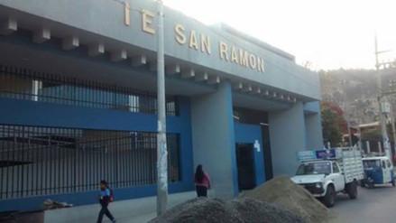 Cerca del 50% de alumnos del colegio San Ramón repiten de grado