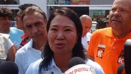"""Keiko Fujimori: """"Yo preferiría que el tema de mi padre, no se politice"""