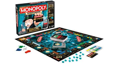 Hasbro lanzará un nuevo Monopoly sin dinero y con tarjeta de crédito