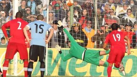 Sporting Cristal: Diego Penny y el día que le atajó un penal a Diego Forlán (VIDEO)
