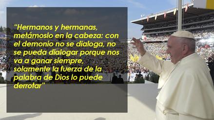 Papa Francisco: 10 frases que han marcado su visita a México