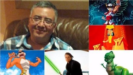 Jesús Barrero: 10 personajes a los que les prestó su voz