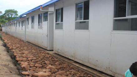 Moyobamba: instalarán 68 aulas prefabricadas en colegios de mayor riesgo