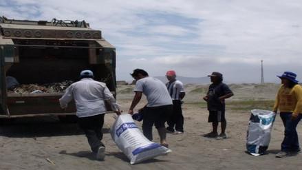 Chiclayo: recolectan más de media tonelada de basura en playa de Ciudad Eten