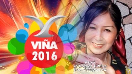 Viña del Mar 2016: Conoce a Maribel Chira, representante de Perú
