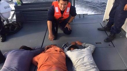 Capturan embarcaciones ecuatorianas dentro de mar peruano