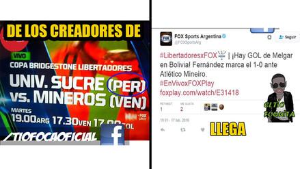 Facebook: los memes que dejó la derrota de Melgar en Copa Libertadores